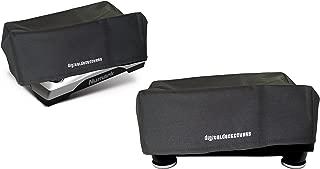 Turntable Dust Cover for Numark TTUSB / TT1610 / TT1625 / TT200 / TT500; Stanton TT200 / STR8-100 / STR8-90 / STR8-80 / STR8-30 / STR8-20; Ion ITTUSB Record Player Protector Case by DigitalDeckCovers