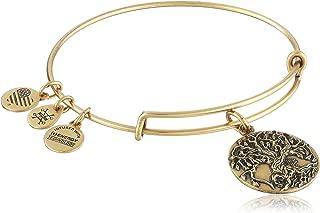 Tree of Life III Expandable Rafaelian Bangle Bracelet