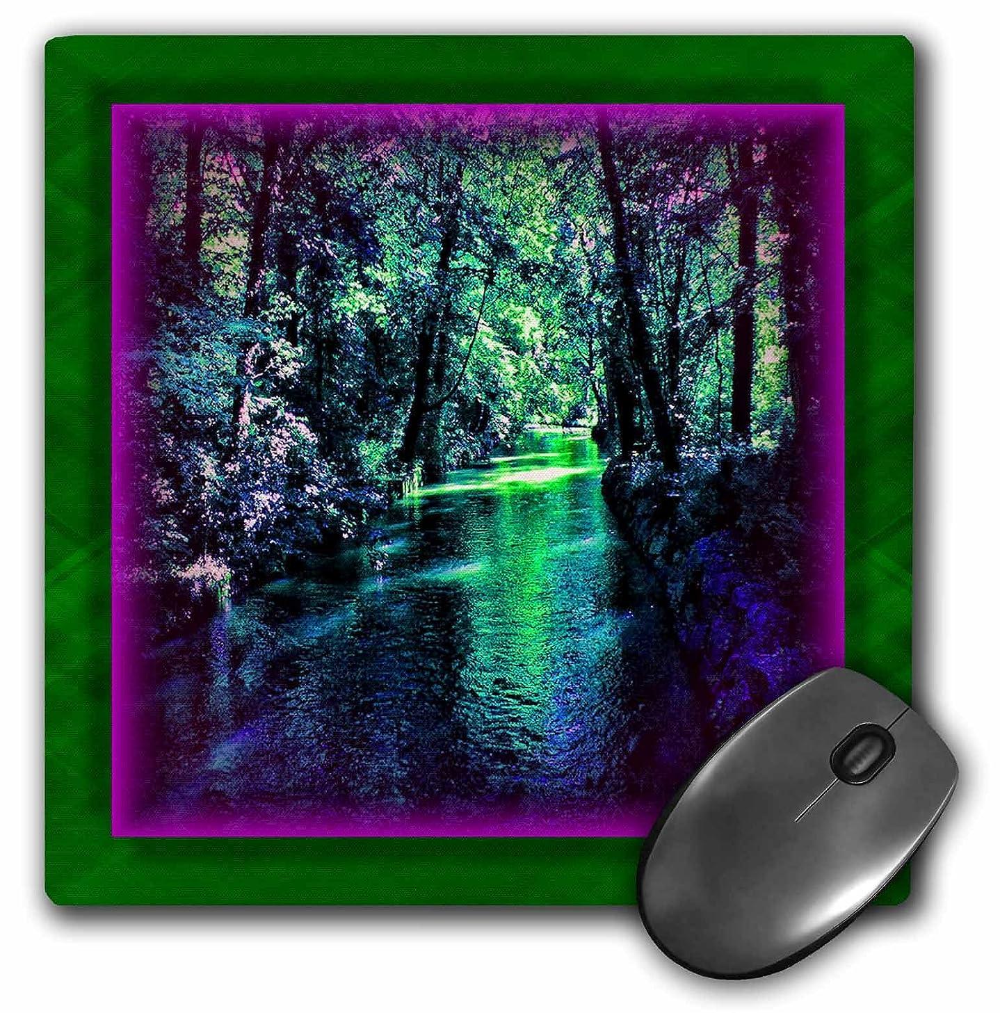 3dRose LLC 8 X 8 X 0.25 Inches Supreme Stream Mouse Pad (mp_24199_1)