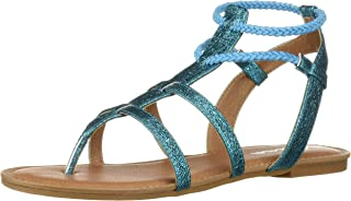 Nina Girls' margaree Sandal turquoise 12 Medium US Little Kid