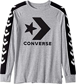 Long Sleeve Track Tee (Big Kids)