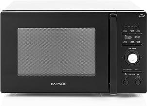 Daewoo KQG-9GMR Encimera - Microondas (Encimera, Microondas combinado, 26 L, 900 W, Botones, Giratorio, Negro, Espejo)