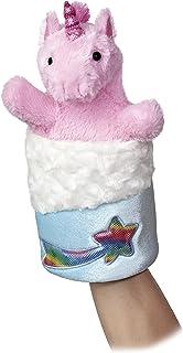"Aurora World Pop-Up Unicorn Puppet Plush, 11"" Tall"