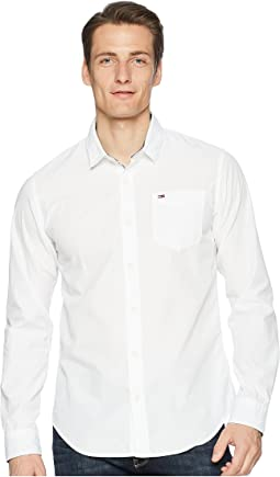 Tommy Jeans End on End Button Down Shirt