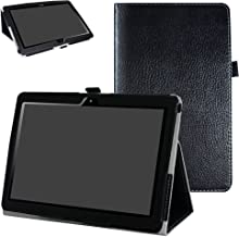 "MediaPad T3 10.0 Case,Mama Mouth PU Leather Folio 2-Folding Stand Cover with Stylus Holder for 10"" Huawei MediaPad T3 10.0..."