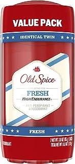 Old Spice High Endurance Deodorant, Fresh, Pack of 2 (3.0 oz each)