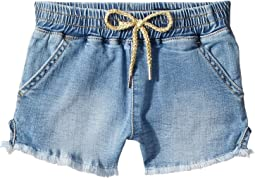 AG Adriano Goldschmied Kids Khloe Chambray Pull-On Shorts (Big Kids)