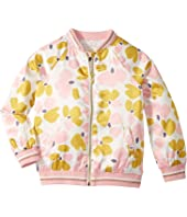 Kate Spade New York Kids - Satin Printed Bomber (Little Kids/Big Kids)