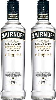 Smirnoff Black No. 55 Vodka, 2er, Wodka, Alkohol, Alkoholgetränk, Flasche, 40%, 500 ml, 715105
