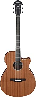Ibanez AEG Series AEG7MH-OPN - Acoustic Guitar - Open Pore Natural