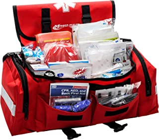 School Emergency First Aid Kit by MFASCO Red Bag