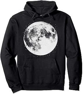 Full Moon Hoodie Moon Phase Men And Women Pullover Hoodie