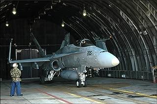 20x30 Poster; Fa-18A Hornet F-18 Vfa-97 Warhawks Osan Air Base, S. Korea