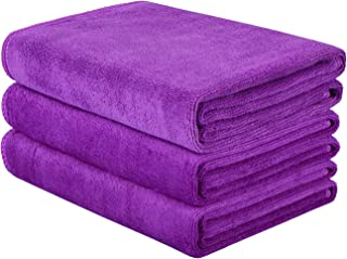 HOPESHINE Microfiber Gym Towels Fast Drying Sports Towel Fitness Workout Sweat Towels for..