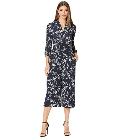 LAUREN Ralph Lauren Patia Jumpsuit (Lighthouse Navy/Blue/Multi) Women