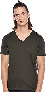 Armani Exchange Men's 8NZT75 T-Shirt, Green (Pondero Pine 1835), Small