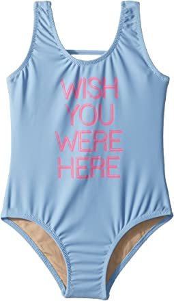 Wish You Were Here One-Piece (Infant/Toddler/Little Kids)