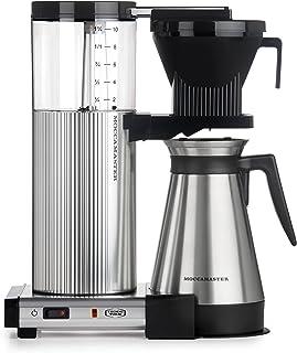 Technivorm Moccamaster CDGT Coffee Brewer, 40 oz, Polished Silver