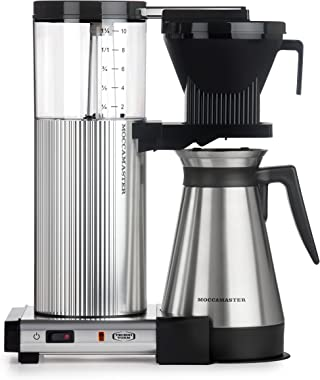 Technivorm Moccamaster CDGT Coffee Brewer, 40 oz, Polished Silver