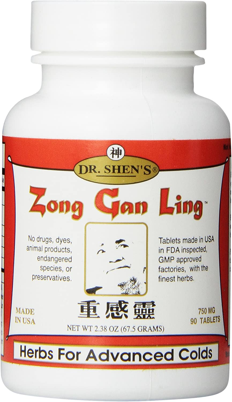 Dr. Shen's Zong Gan Ling Classic Count Sale item Pills 90