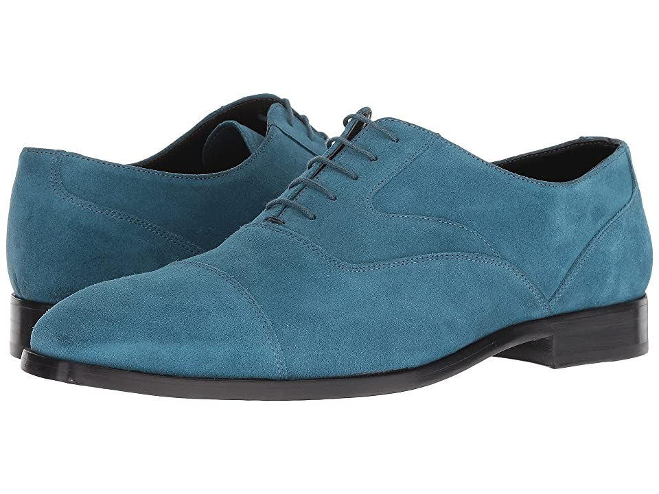 Paul Smith Tompkins Cap Toe Oxford (Petrol Green) Men
