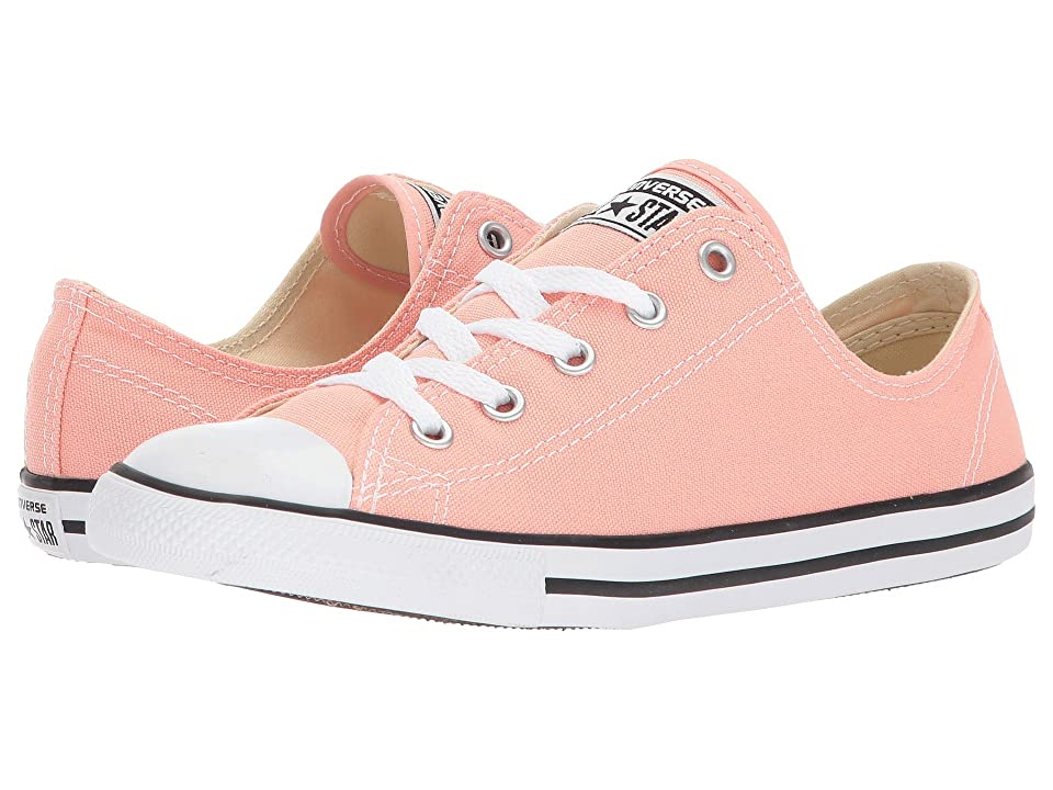 Converse Chuck Taylor(r) All Star Dainty Ox (Pale Coral/White/Black) Women