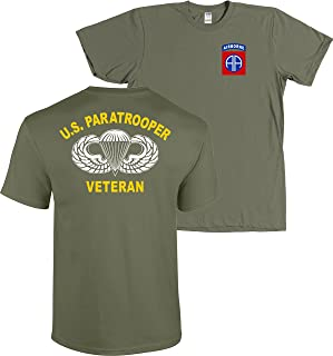 82nd Airborne Division US Paratrooper Army Veteran Shirt