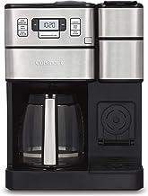 "Cuisinart SS-GB1 Coffee Center Grind & Brew Plus Silver, 10.75""(L) x 11.73""(W) x 15.93""(H)"
