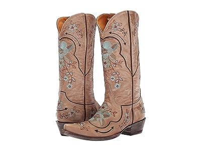 Old Gringo Bonnie Pipin (Bone/Chocolate) Cowboy Boots