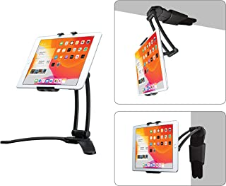 CTA Digital PAD-MJDW Multi-Joint Desk and Wall Mount for Tablets and Smartphones/Apple iPhone 11, Pro/iPad Mini 5, iPad Air 3, iPad 10.2-Inch (7th Gen) and More
