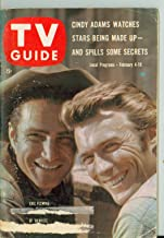1961 TV Guide Feb 4 Clint Eastwood and Eric Fleming of Rawhide - Western Washington Edition Very Good (3 out of 10) Well Used by Mickeys Pubs