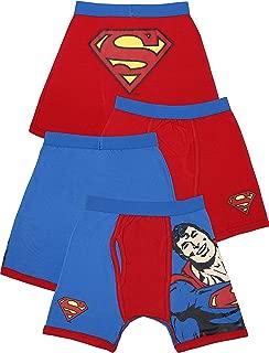 Intimo Little Boys' DC Comics- 2 Pack Classic Superman Boxer Brief