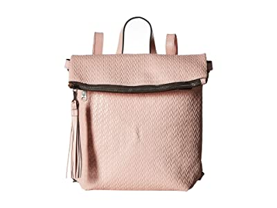 Patricia Nash Twisted Woven Embossed Luzille Backpack (Pink) Backpack Bags