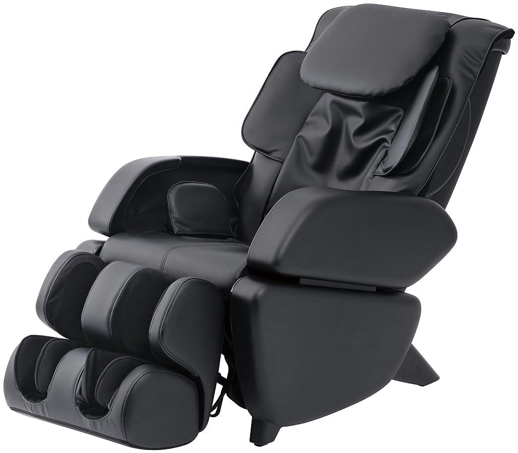 信頼不快ブロックスライヴ マッサージチェア くつろぎ指定席 「つかみもみ機能搭載」 ブラック CHD-9006(K)