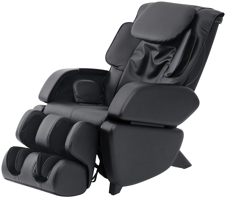 形式層フラスコスライヴ マッサージチェア くつろぎ指定席 「つかみもみ機能搭載」 ブラック CHD-9006(K)