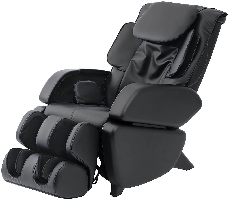 アンケート安西留め金スライヴ マッサージチェア くつろぎ指定席 「つかみもみ機能搭載」 ブラック CHD-9006(K)