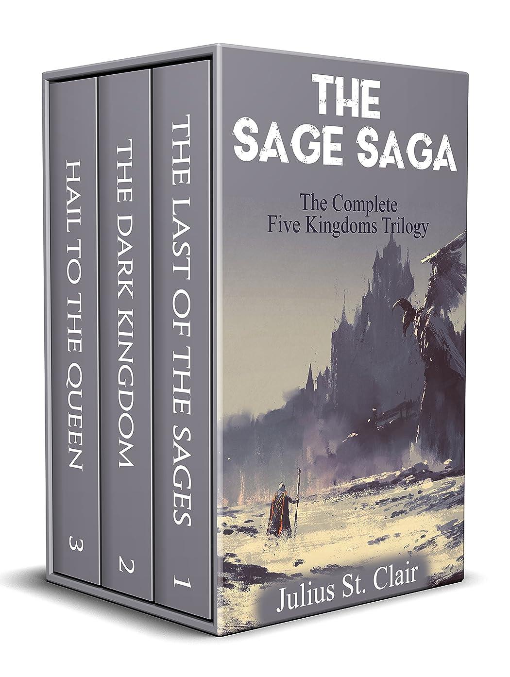 母音スペシャリスト農学The Last of the Sages: The Complete Five Kingdoms Trilogy (Books 1-3) (Sage Saga Bundle Book 1) (English Edition)