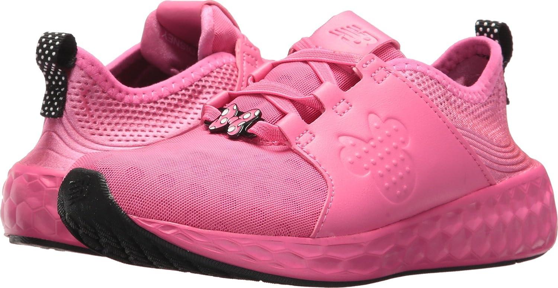 Tipo delantero Entrada Rebobinar  Amazon.com | New Balance Kids' Kvcrzv1p-Minnie Rocks The Dots (Little |  Sneakers