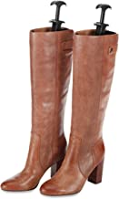 Whitmor Boot Shapers - Spring Loaded Adjustable - Men's and Women's Boots (Set of 2) (Renewed)