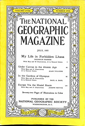 The National Geographic Magazine July, 1955