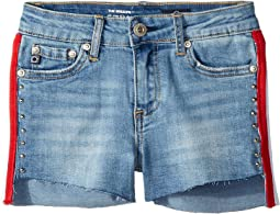 Brezlyn Shorts in Campy Blue (Big Kids)