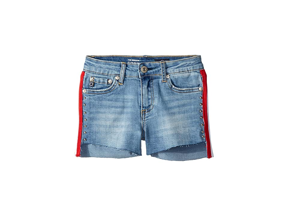 Image of AG Adriano Goldschmied Kids Brezlyn Shorts in Campy Blue (Big Kids) (Campy Blue) Girl's Shorts