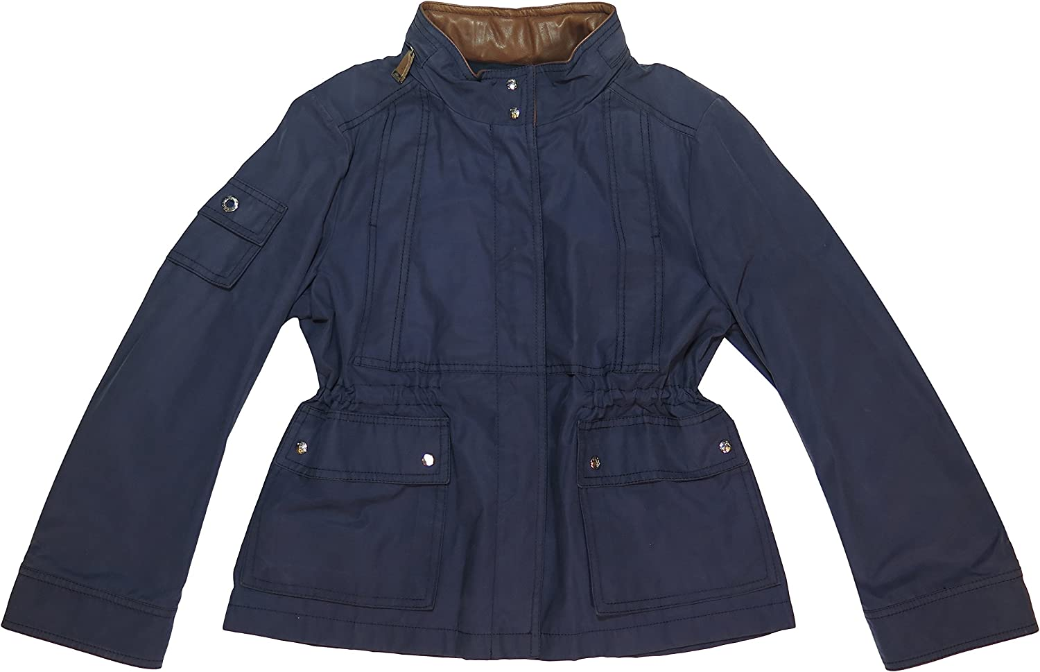 Tod's Women's Navy Cotton Lightweight Jacket