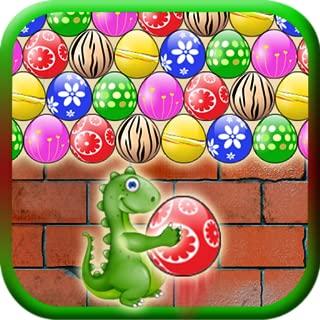 Dinosaur Shooter: Bubble Eggs Jungle Free Game - Totally Addictive!