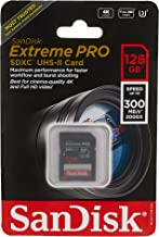 SanDisk SDSDXPK-128G-ANCINSandisk Extreme Pro - Flash Memory Card - 128 GB - SDXC UHS-II - Black