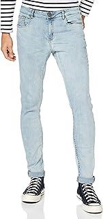 Urban Classics Men's Slim Fit Zip Jeans Trouser