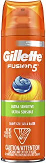 Gillette Fusion Ultra Sensitive Hydra Gel Shave Gel, 198g
