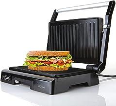 Black+Decker ES9680050B BXGR1000E Grill Electrique, Plastique, Nero