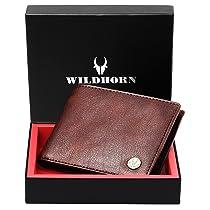 WildHorn® Leather Wallet For Men