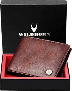 Wildhorn Genuine Leather Hand-Crafted Wallet for Men's